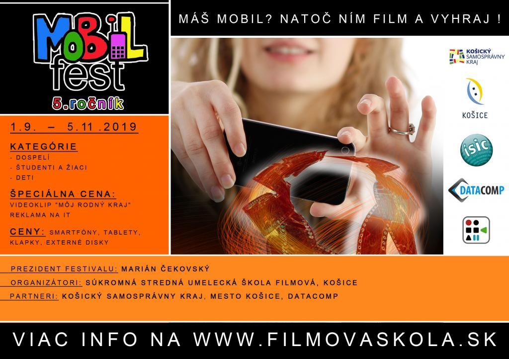 Uzávierka Mobilfest 2019 do 5.11.2019!